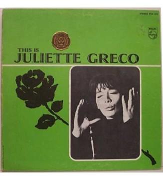 Juliette Gréco - This Is Juliette Greco (LP, Comp, Mono) mesvinyles.fr