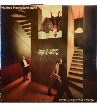Manfred Mann's Earth Band - Angel Station (LP, Album) mesvinyles.fr