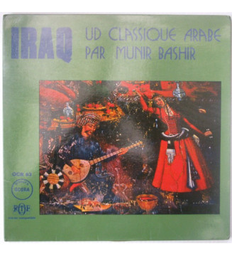 Munir Bashir - Iraq: Ud Classique Arabe (LP, Album) mesvinyles.fr