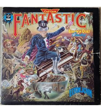 Elton John - Captain Fantastic And The Brown Dirt Cowboy (LP, Album) mesvinyles.fr