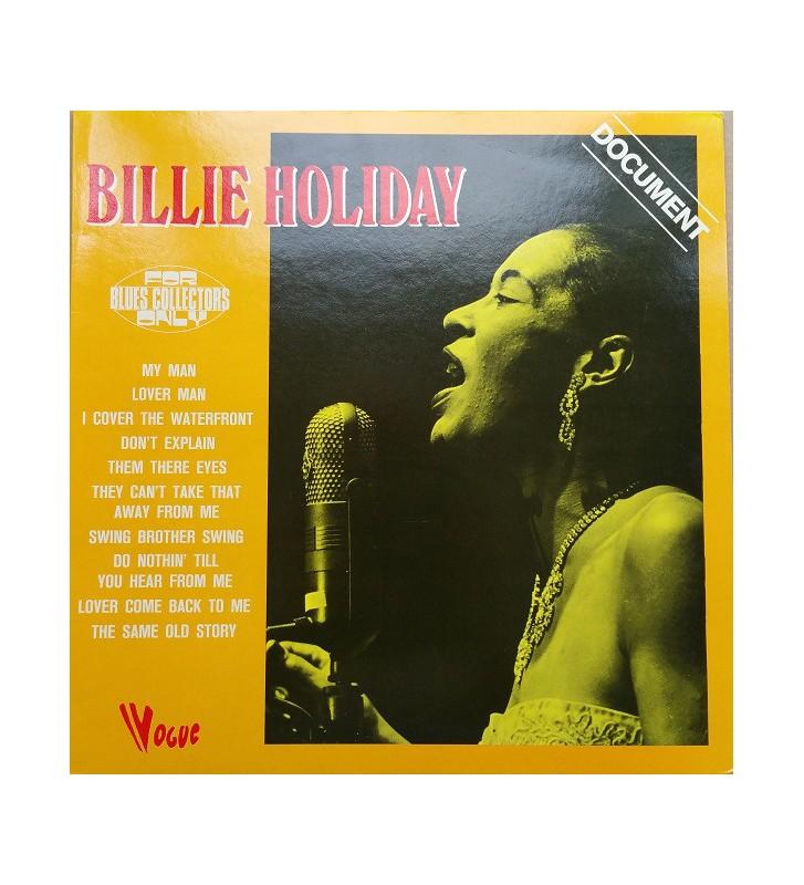 Billie Holiday - Document (LP, Comp, RE) mesvinyles.fr