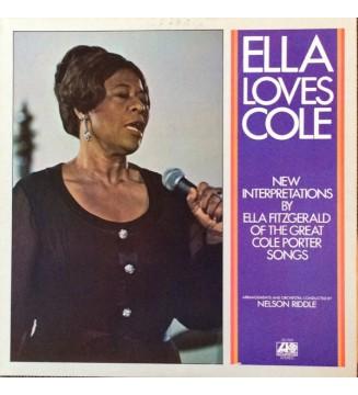 Ella Fitzgerald - Ella Loves Cole (LP, Album) mesvinyles.fr