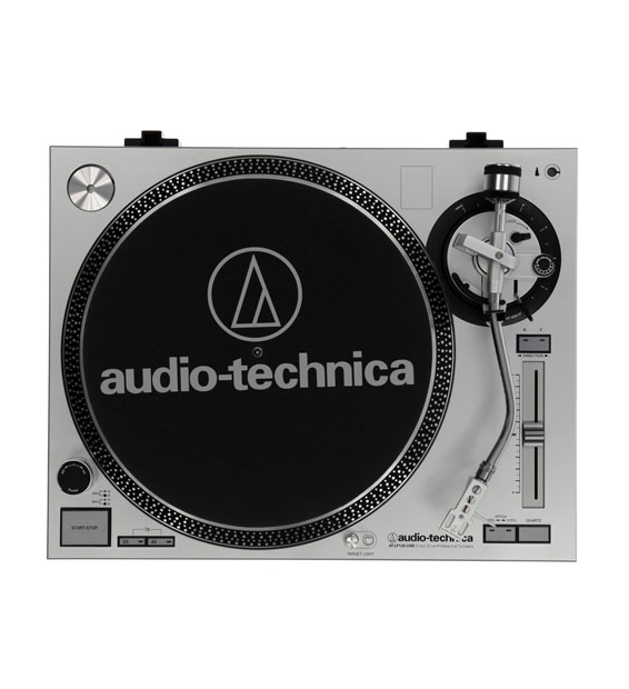 PLATINE 33 Tours Audio-Technica AT-LP120-USB - ARGENT