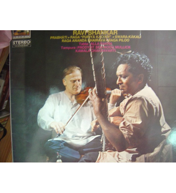 Yehudi Menuhin & Ravi Shankar - West Meets East (LP, Album)