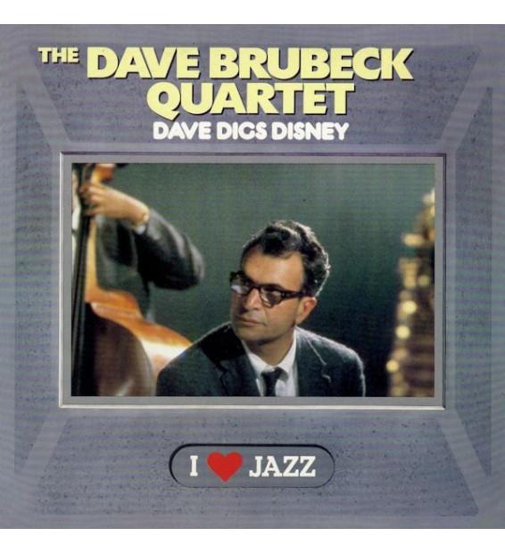 The Dave Brubeck Quartet - Dave Digs Disney (LP, Album, RE, Mono)