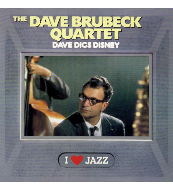 The Dave Brubeck Quartet - Dave Digs Disney (LP, Album, RE, Mono)