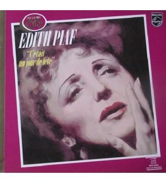 Edith Piaf - C'était Un Jour De Fête (LP, Comp) mesvinyles.fr