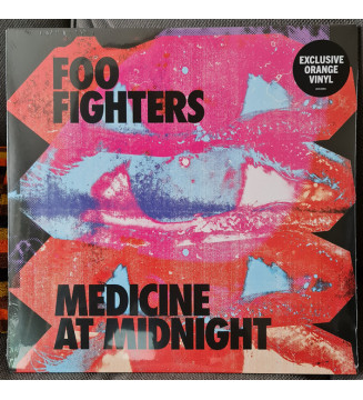 Foo Fighters - Medicine At Midnight (LP, Album, Ltd, Ora) mesvinyles.fr