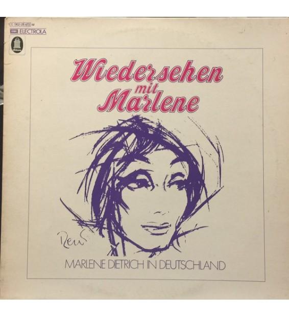 Marlene Dietrich - Wiedersehen Mit Marlene (LP, Mono)