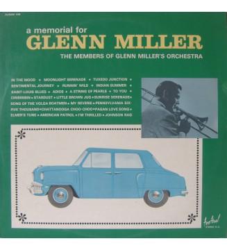 The Members Of Glenn Miller's Orchestra* - A Memorial For Glenn Miller (2xLP, Gat) mesvinyles.fr