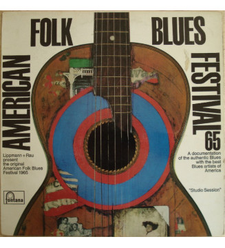 Various - American Folk Blues Festival '65 (LP, Album, Comp) mesvinyles.fr