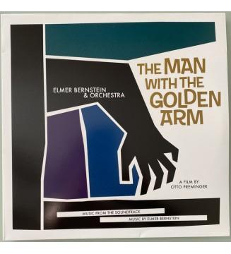 Elmer Bernstein & Orchestra - The Man With The Golden Arm (LP, Ltd, Gol) mesvinyles.fr