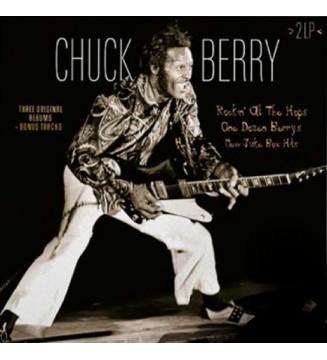 Chuck Berry - Rockin' At The Hops / One Dozen Berrys / New Juke Box Hits (2xLP, Comp, RM, Col) mesvinyles.fr