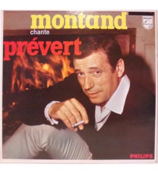 Yves Montand - Montand Chante Prévert (LP, RE) mesvinyles.fr