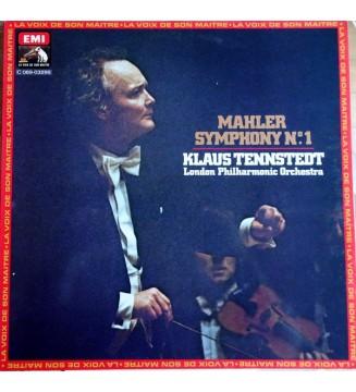 Mahler*, Klaus Tennstedt, London Philharmonic Orchestra* - Mahler Symphony No. 1 (LP, Quad) mesvinyles.fr