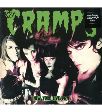 The Cramps – Live In New York 1979 new mesvinyles.fr