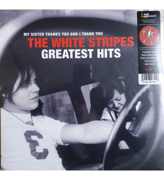 The White Stripes - My Sister Thanks You And I Thank You The White Stripes Greatest Hits (2xLP, Comp, Exc) mesvinyles.fr