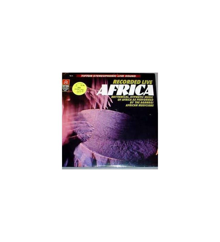 Agawagi African Musicians - Music Of Africa mesvinyles.fr