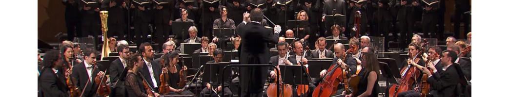 Category Vinyles Occasions CLASSIQUE - mesvinyles.fr :  Claudio Monteverdi – Ensemble Vocal Et Instrumental De Lausanne , Dir...