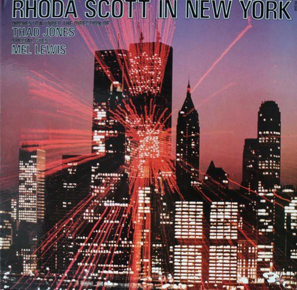 Rhoda Scott Orchestra Under The Direction Of Thad  - Rhoda Scott In New York - 33T