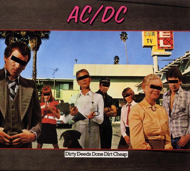 AC/DC - dirty deeds done dirt cheap - 33T 180-220 gr
