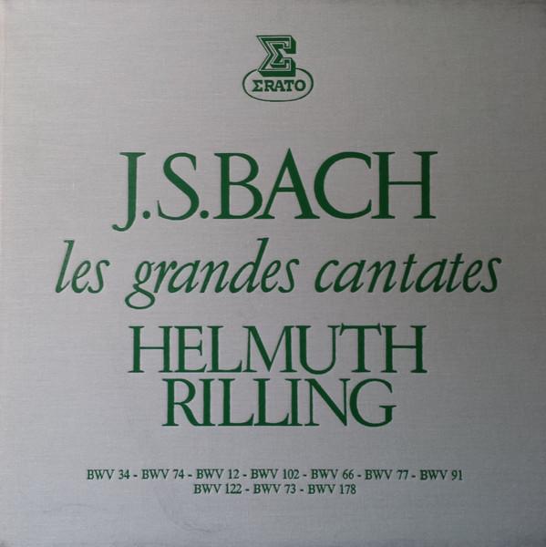 Johann Sebastian Bach, Helmuth Rilling - Les Grandes Cantates - Volume 3 - 33T x 5