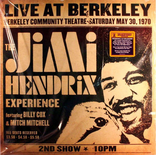The Jimi Hendrix Experience Live At Berkeley
