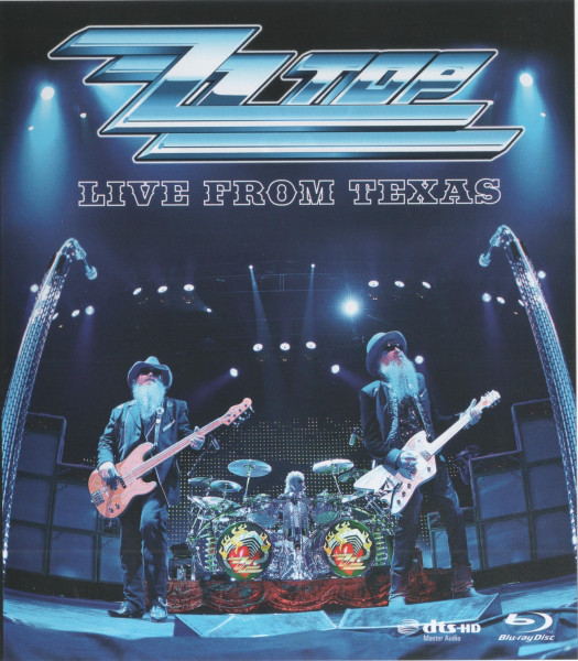 ZZ TOP - Live From Texas - Blu-ray Disc