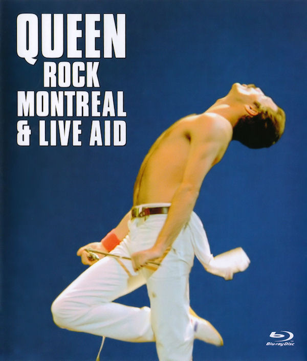 QUEEN - Rock Montreal & Live Aid - Coffret Blu-ray Disc