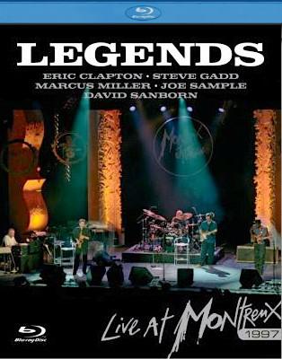 ERIC CLAPTON, STEVE GADD, MARCUS MILLER, JOE SAMPL - Legends Live At Montreux 1997 - Blu-ray Disc