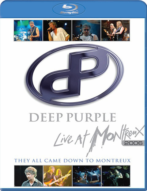 DEEP PURPLE - Live At Montreux 2006 - They All Came Down To Montreux - Coffret Blu-ray Disc