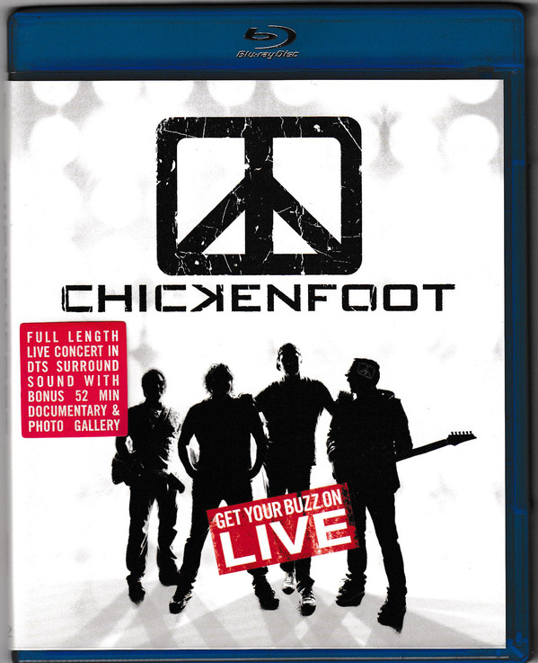 CHICKENFOOT - Get Your Buzz On LIVE - Blu-ray Disc