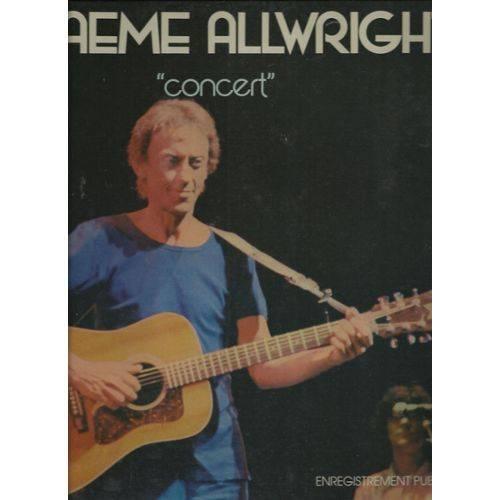 Graeme Allwright - ''Concert'' - 33T x 2
