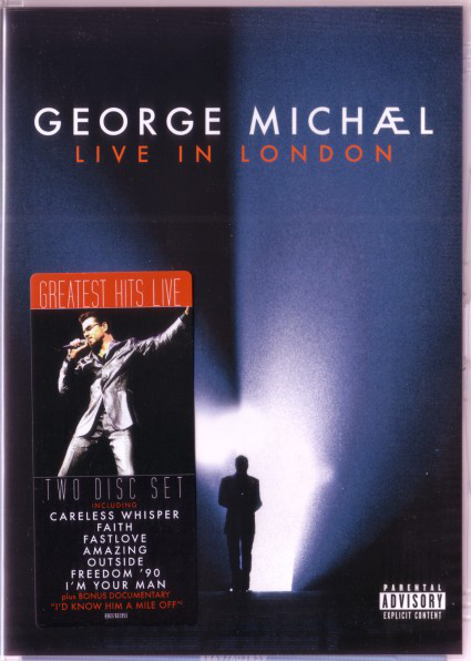 GEORGE MICHAEL - Live In London - DVD x 2