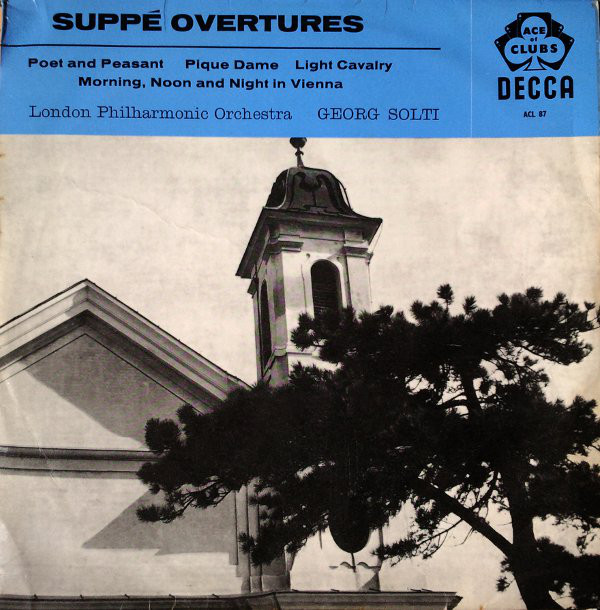 SuppŽ*, Georg Solti Conducting London Philharmonic SuppŽ Overtures