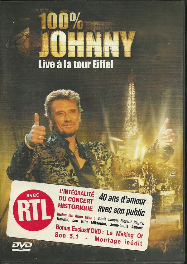 JOHNNY* - 100% Johnny - Live Ë La Tour Eiffel - DVD
