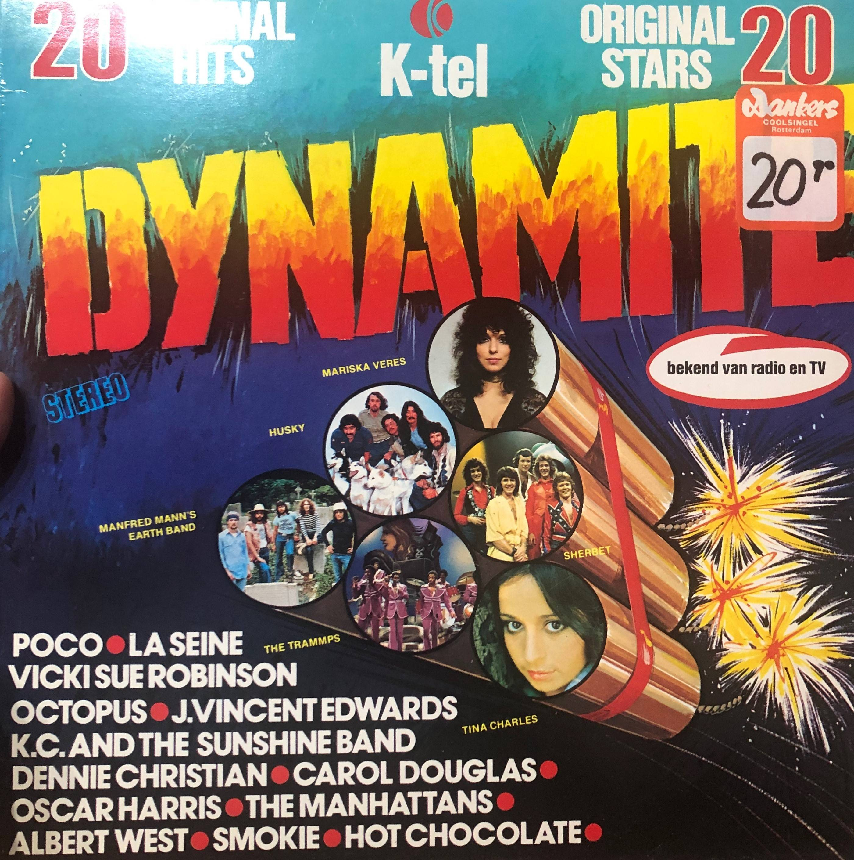 VARIOUS - Dynamite - LP