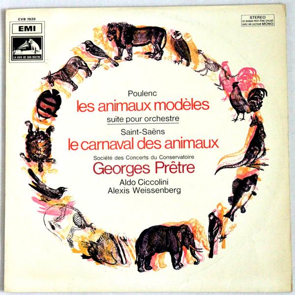 POULENC* / SAINT-SA'NS* / GEORGES PRTRE, ALDO CIC - Poulenc* / Saint-Sa'ns* / Georges Prtre, Aldo Cic - Autres