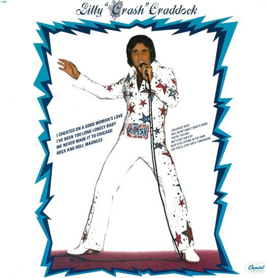 BILLY ''CRASH'' CRADDOCK* - Billy ''Crash'' Craddock - LP
