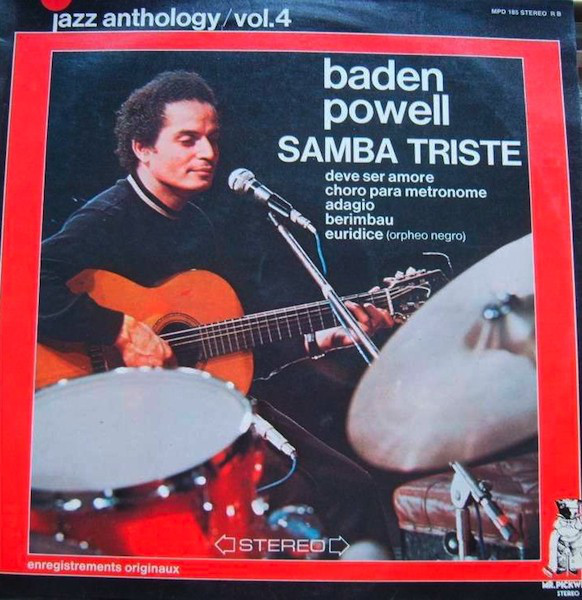 BADEN POWELL - Samba Triste - Jazz Anthology Vol. 4 - 33T