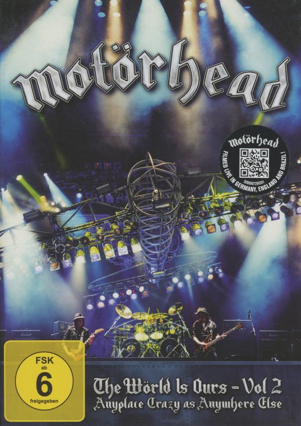 MOTšRHEAD - The Wšrld Is Ours - Vol 2 - DVD