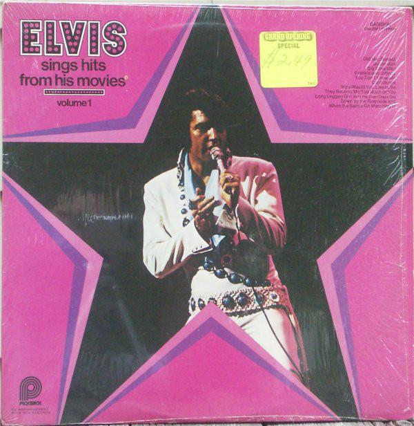 ELVIS PRESLEY - Sings Hits From His Movies, Volume 1 - 33T