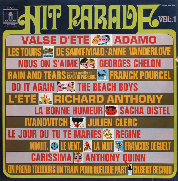 VARIOUS - Hit Parade Vol. 1 - LP