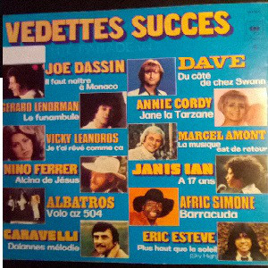 Various Vedettes Succes - Hit Parade Volume 7