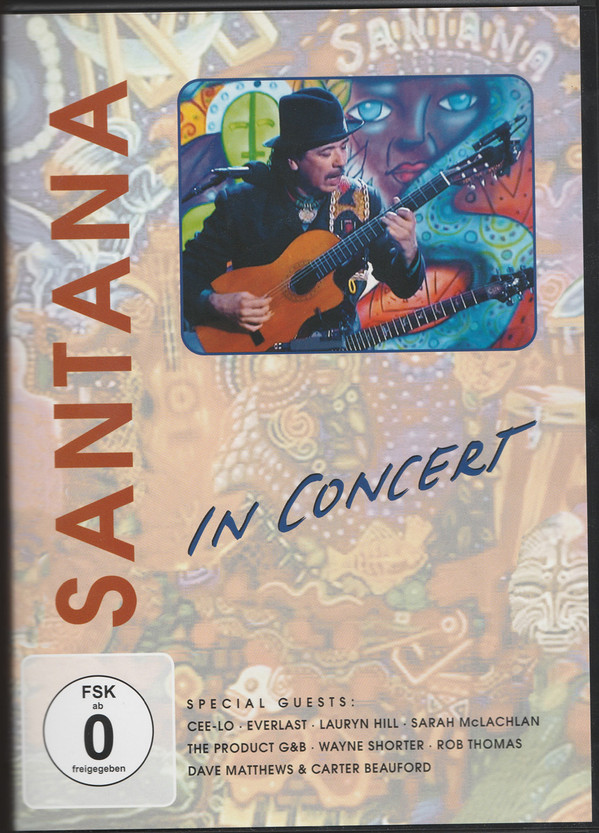 SANTANA - In Concert - DVD