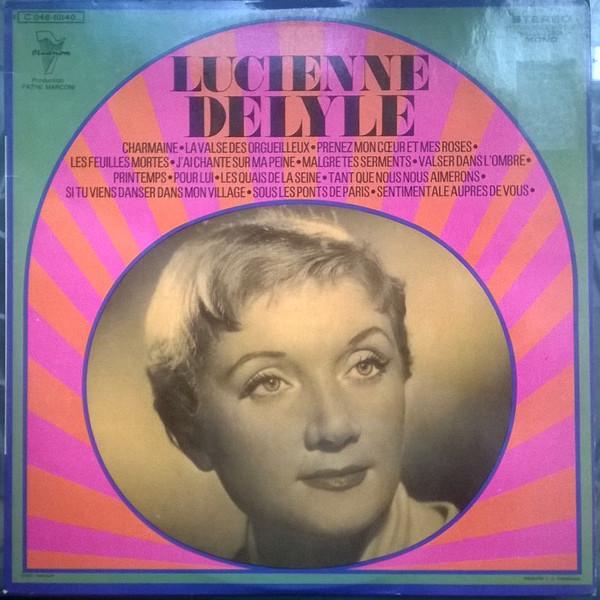 LUCIENNE DELYLE - Lucienne Delyle - 33T