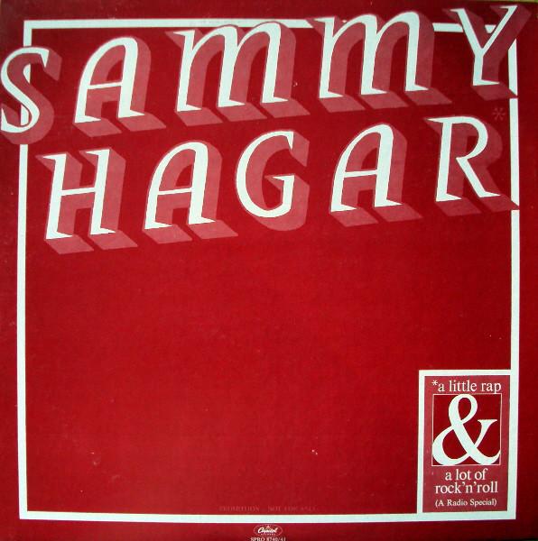 Sammy Hagar - A Little Rap & A Lot Of Rock 'N' Roll - 33T