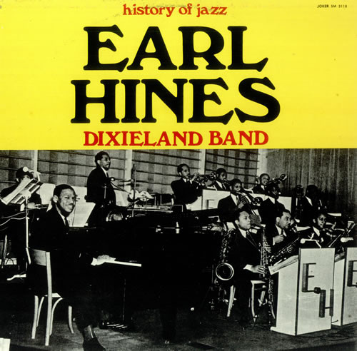 EARL HINES - Dixieland Band - 33T