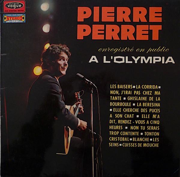 PIERRE PERRET (2) - EnregistrŽ En Public A L'Olympia - LP